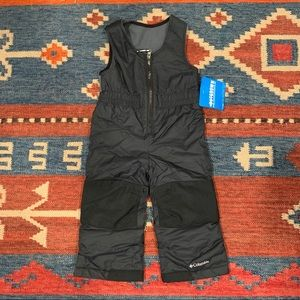 Columbia Snow Pants 2T NWT Black
